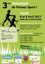 3° Nordique de Pensez Sport 9 avril 2017