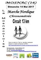 13 Km Marche Nordique Chronométrée de La Mosnacotoise