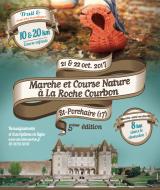 Course Nature au Château de La Roche Courbon