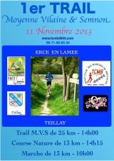 1er Trail  Moyenne Vilaine & Semnon