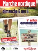 """4ème édition """"marche nordique"""" sur le plateau des Grandes Terres"""