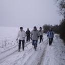 Belle marche sous la neige<br /> Ce samedi 19 janvier à 9 H 15  avec un groupe de 21 personnes nous avons fait une belle sortie de  12 km  le club de marche  nordique de Vitry le François le club ACV