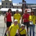 Notre équipe sur le vercors 2014  www.equilibreetconvivialite.fr