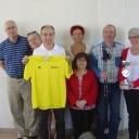 Notre groupe pour l'euro nordic du vercors  www.equilibreetconvivialite.fr